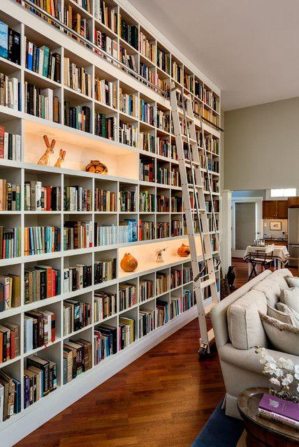 Domowa Biblioteczka Jak Ją Urządzić Domieszkania